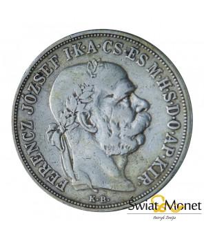 5 koron 1900 Franiciszek Józef Austro-Węgry