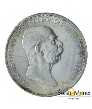 5 koron 1908 Franiciszek Józef Austro-Węgry