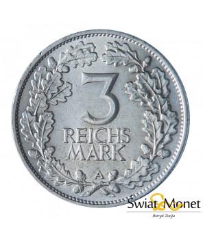 3 marki 1925 A Rheinlande st. I Weimar  Niemcy (3)