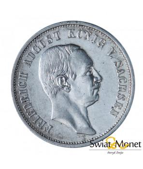3 marki 1912 E Fryderyk  Saksonia Niemcy