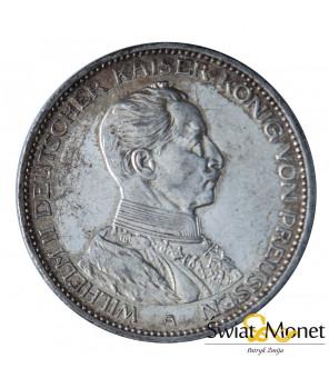 3 marki 1914 Wilhelm II Mundur Prusy Niemcy