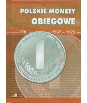 Album Polskie Monety Obiegowe II RP 1967 - 1972