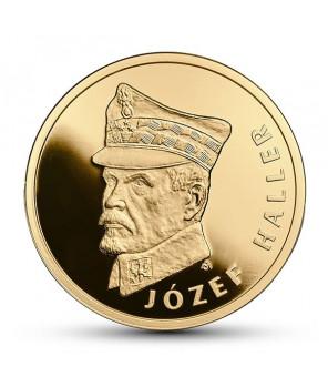100 zł Józef Haller 2016