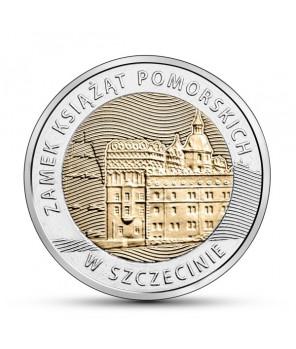 5 zł Zamek Książąt Pomorskich w Szczecinie 2016