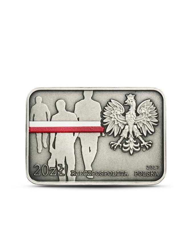 20 zł 35. rocznica zrywu antykomunistycznego w Lubinie 2017