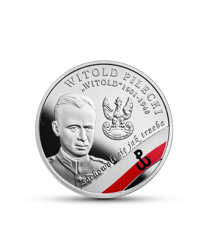"""10 zł 2017 Witold Pilecki ps. """"Witold"""""""