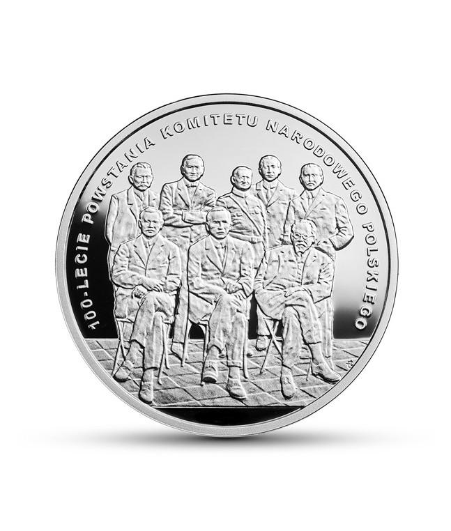 10 zł 2017 10 zł 100-lecie powstania Komitetu Narodowego Polskiego