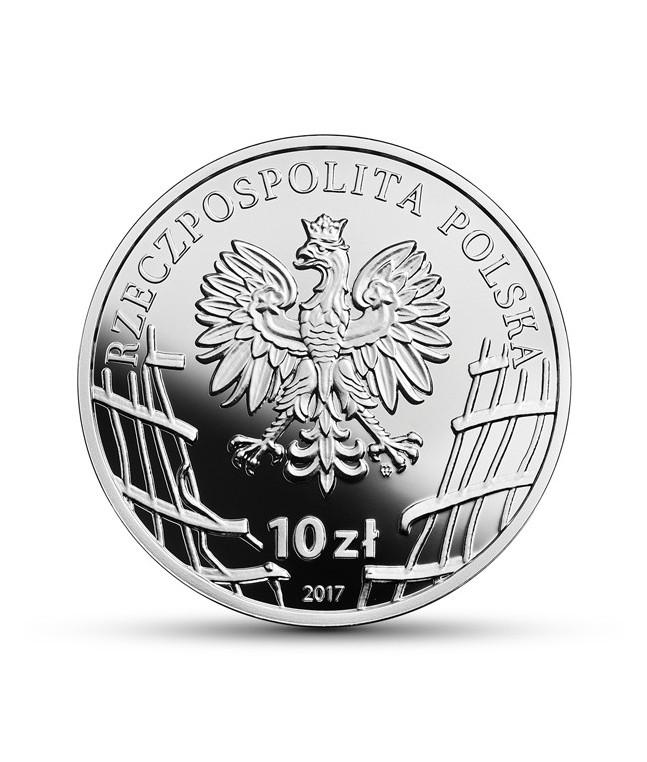 """10 zł 2017 Henryk Glapiński """"Klinga"""""""