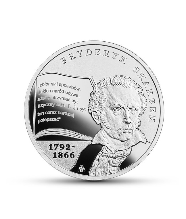 10 zł 2018 Fryderyk Skarbek