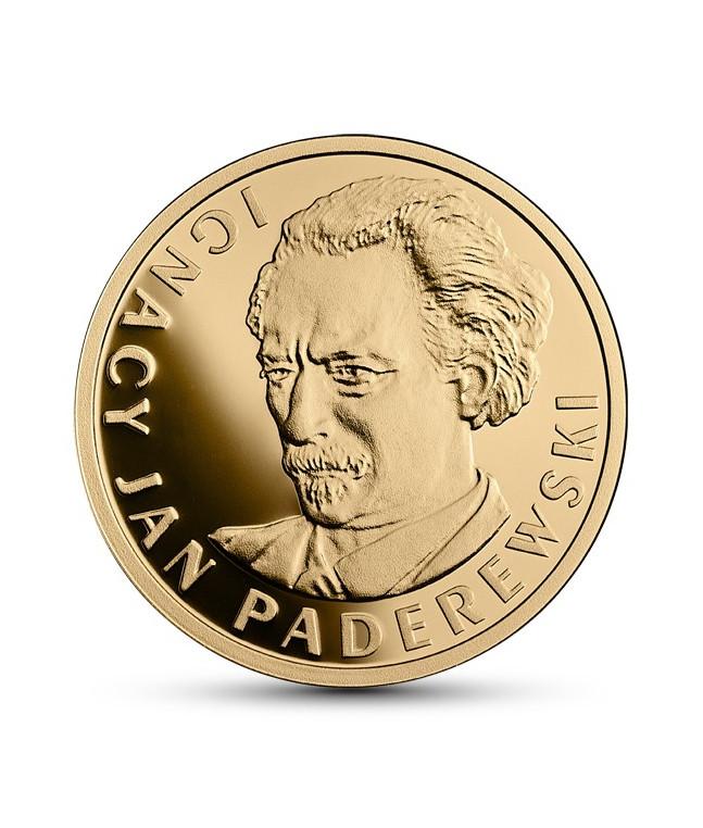 100 zł Ignacy Jan Paderewski - Stulecie odzyskania przez Polskę niepodległości 2018