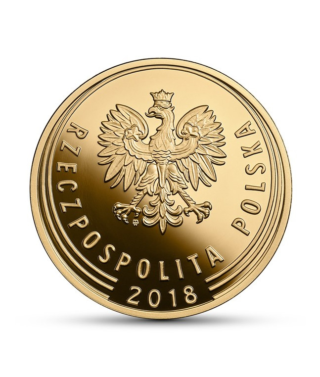 1 zł 100. rocznica odzyskania przez Polskę niepodległości