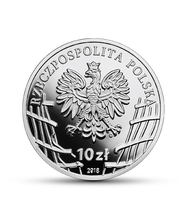 "10 zł 2018 Hieronim Dekutowski, ""Zapora"""