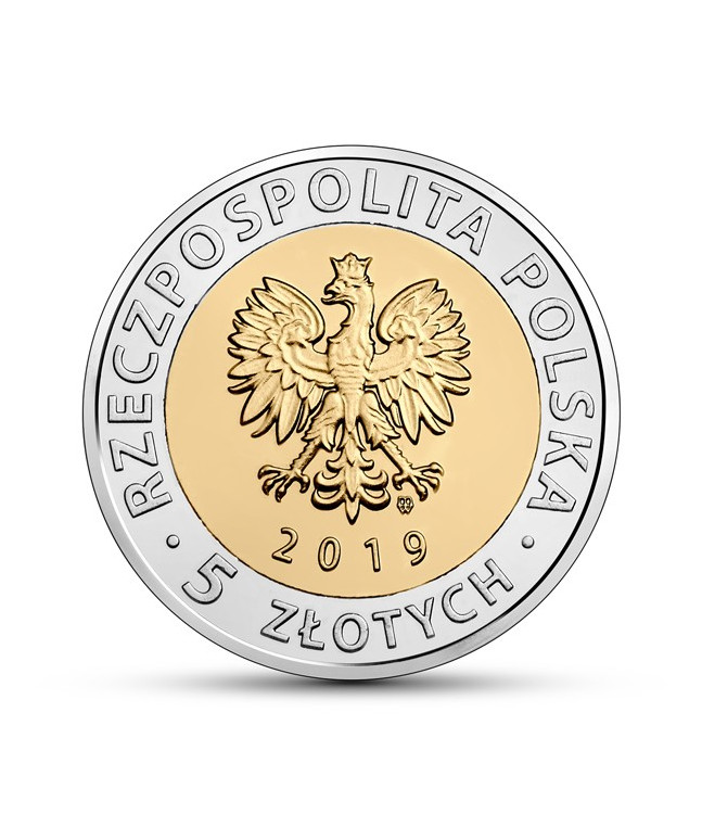 5 zł 2019 Zabytki Fromborka
