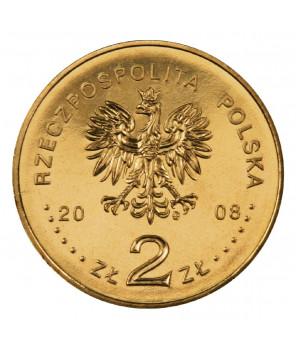 2 zł 400. rocznica polskiego osadnictwa w Ameryce Północnej 2008