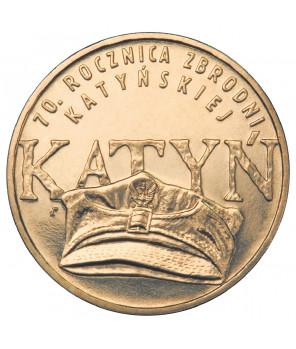 2 zł 70. rocznica zbrodni katyńskiej 2010