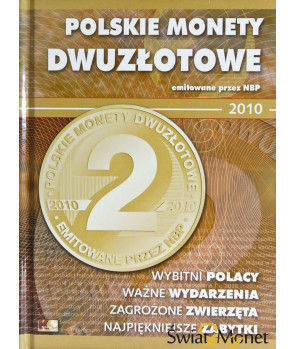 Album Polskie Monety Dwuzłotowe 2010