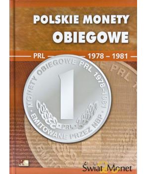 Album Polskie Monety Obiegowe II RP 1973 - 1977
