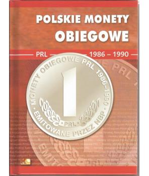 Album Polskie Monety Obiegowe II RP 1982 - 1985