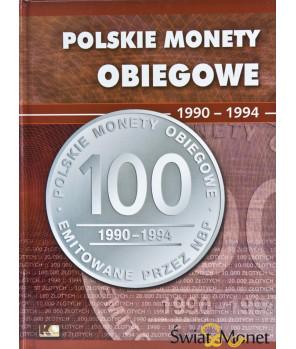 Album Polskie Monety Obiegowe II RP 1986 - 1990