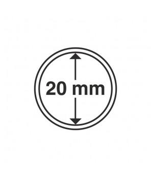 Kapsle Leuchtturm średnica 20 mm - 10 sztuk