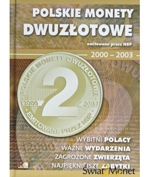 Album Polskie Monety Dwuzłotowe 2000-2003