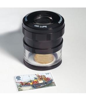 Leuchtturm - Lupa z miarką LU 21, pow. 10x