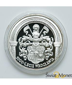 10 zł 1000-lecie Wrocławia 2000