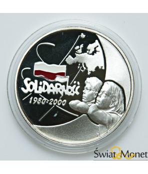 10 zł Solidarność 2000
