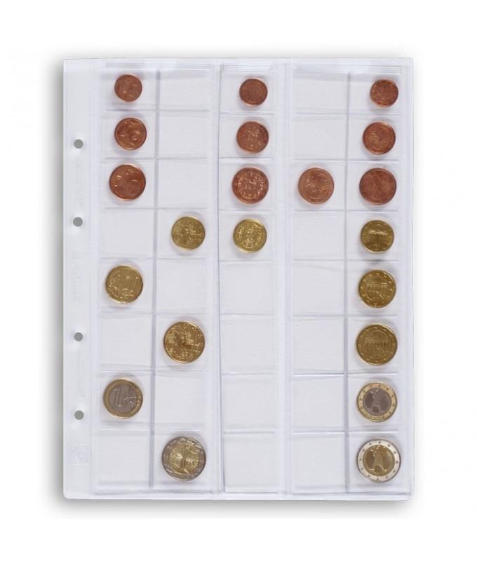 Leuchtturm karta OPTIMA M40 na monety do 26 mm
