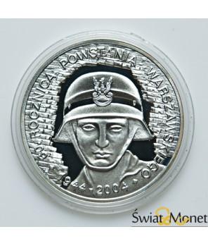 10 zł 60. rocznica Powstania Warszawskiego 2004