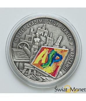 10 zł 100-lecie ASP w Warszawie 2004