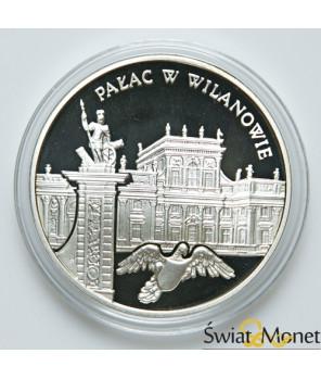 20 zł Pałac w Wilanowie 2000