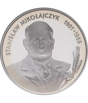 10 zł Stanisław Mikołajczyk 1996