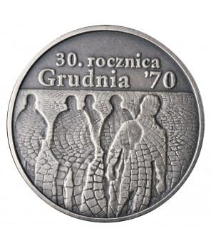 10 zł 30. rocznica Grudnia 70 2000