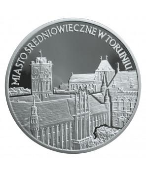 20 zł Miasto średniowieczne w Toruniu 2007