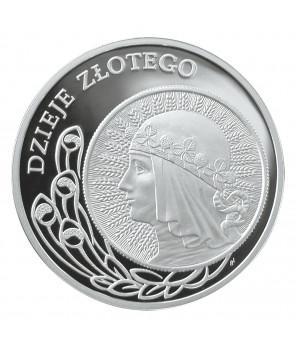 10 zł Dzieje złotego 10 zł z 1932 r. 2006