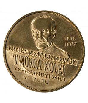 2 zł Ernest Malinowski