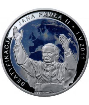 20 zł Beatyfikacja Jana Pawła II 2011