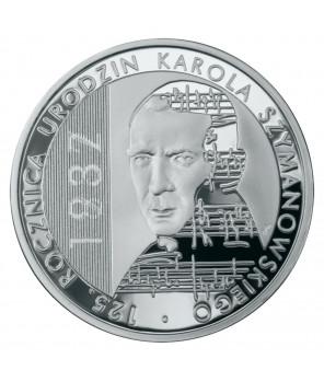 10 zł 125. rocznica urodzin Karola Szymanowskiego 2007