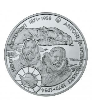 10 zł Henryk Arctowski i Antoni B. Dobrowolski 2007