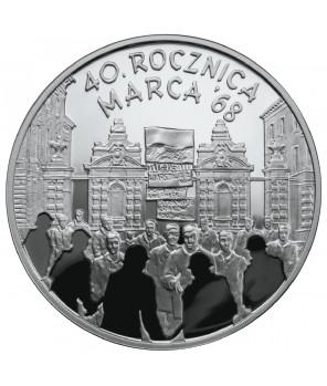 10 zł 40. rocznica Marca '68 2008