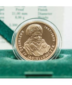 100 zł Kazimierz IV Jagiellończyk 2003