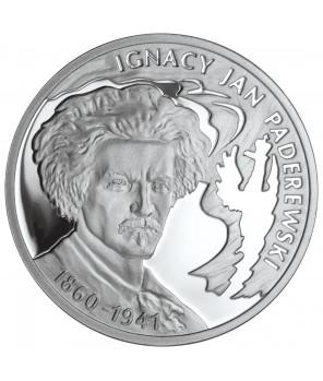 10 zł Ignacy Jan Paderewski 2011