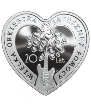 10 zł Wielka Orkiestra Świątecznej Pomocy - 20 lat 2012