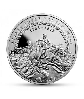 Moneta kolekcjonerska 10 zł Poniatowski