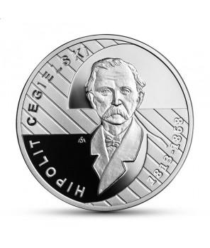 Moneta kolekcjonerska 10 zł Hipolit Cegielski