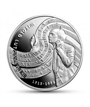 Moneta kolekcjonerska 10 zł Witold Lutosławski