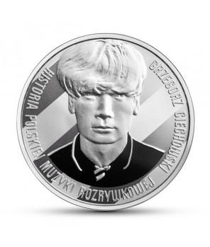 Moneta kolekcjonerska 10 zł Grzegorz Ciechowski