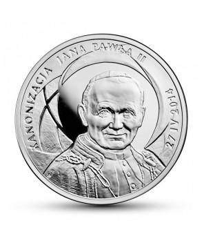 10 zł Kanonizacja Jana Pawła II