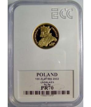 100 zł Władysław II Jagiełło 2002 GCN PR70
